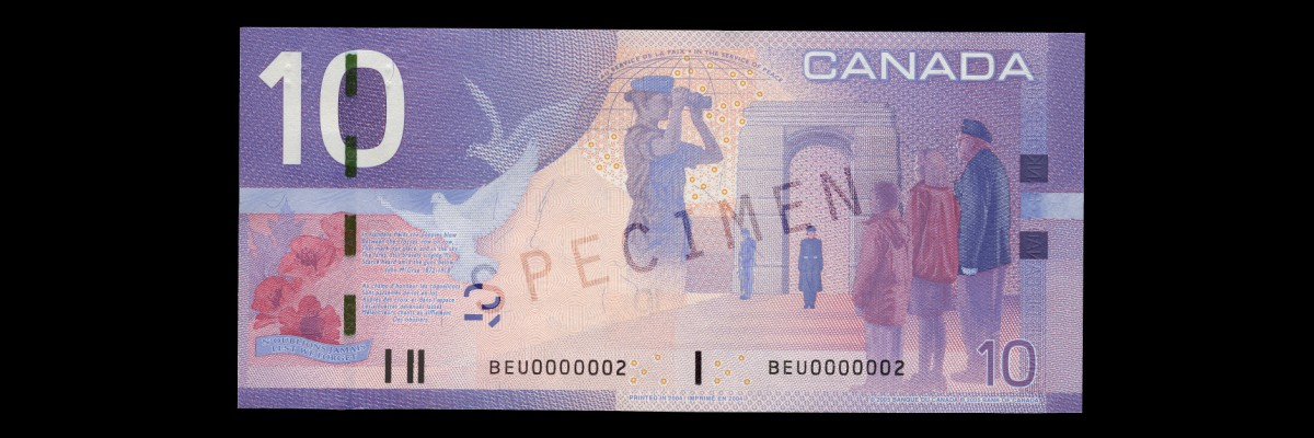 Canadian Journey Series $10 Note - Bank of Canada Museum