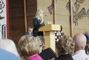 Heritage Minister Shelly Glover talks about the importance of this exhibition