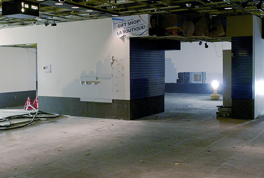 gallery 1 of the old Currency Museum, in demolition