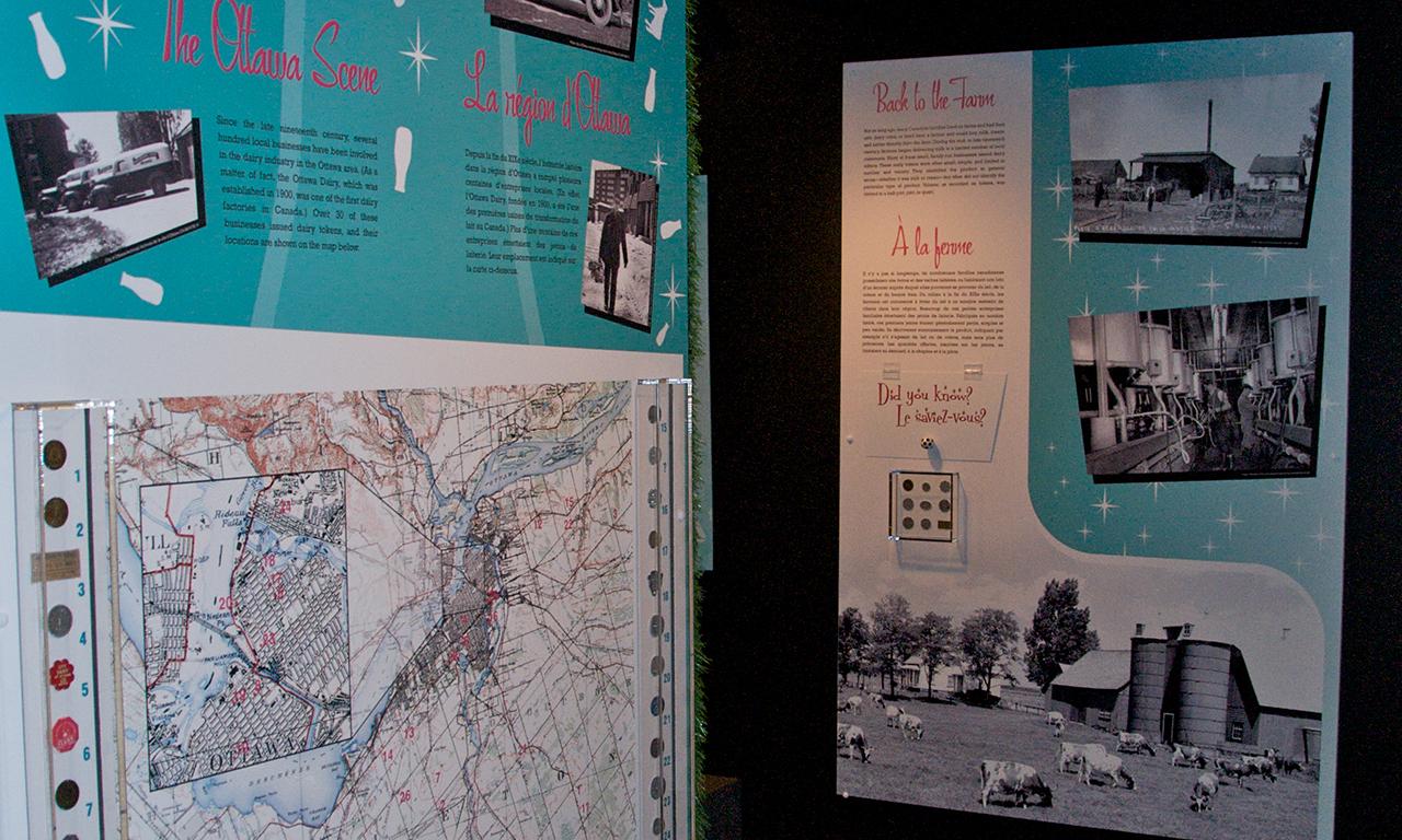 Museum panels