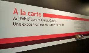 Exhibition title panel