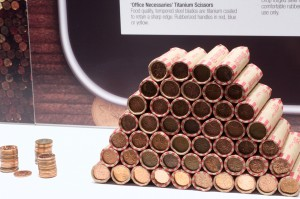 Rolled pennies