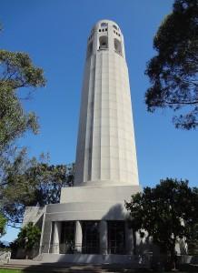 White concrete tower