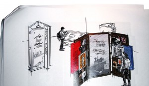 Illustration of exhibit