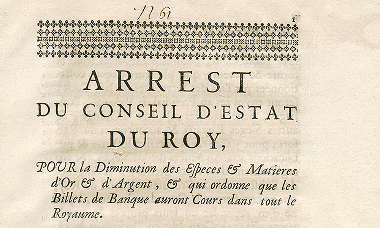 Old French document