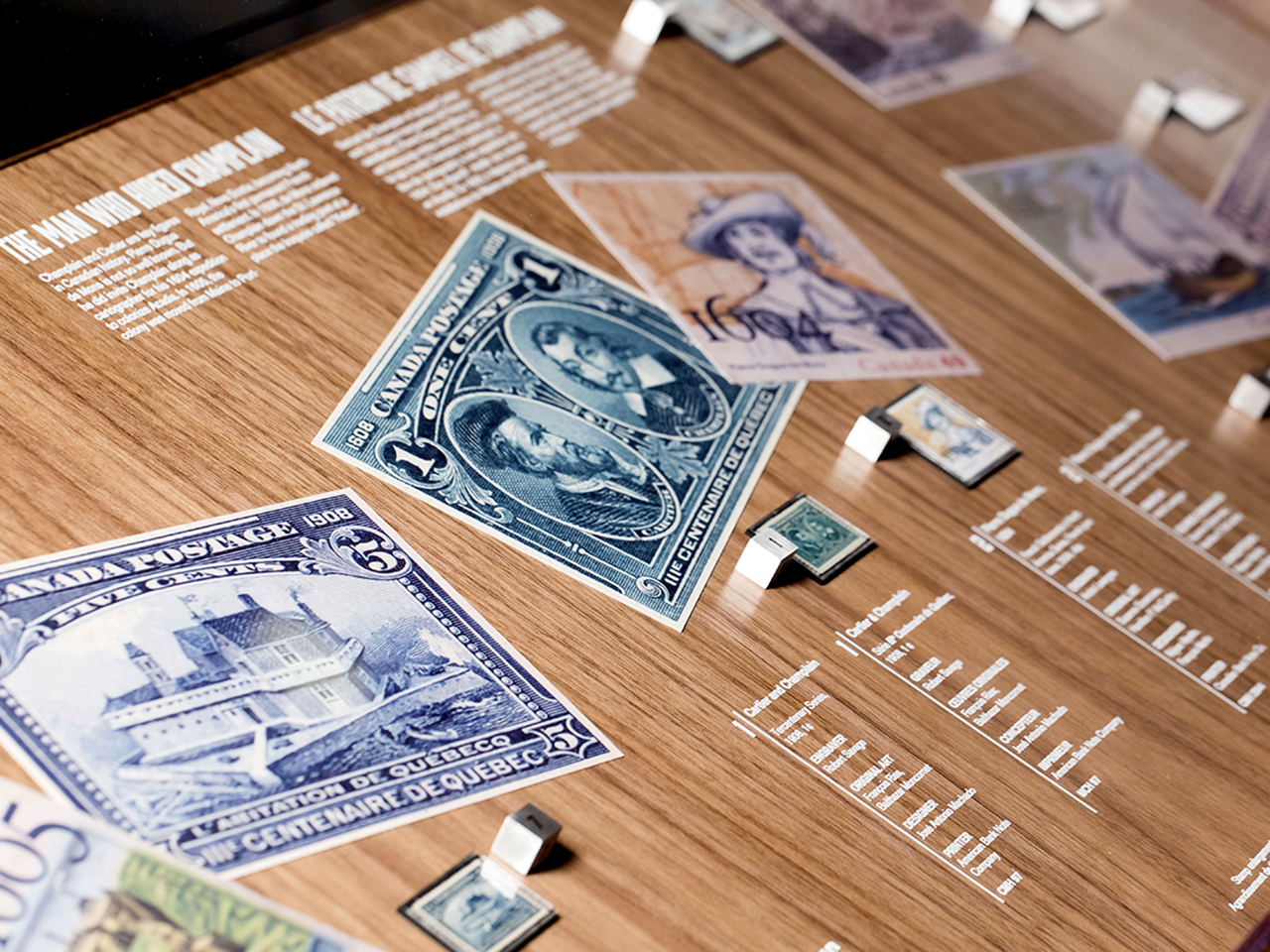 Stamps and images of stamps