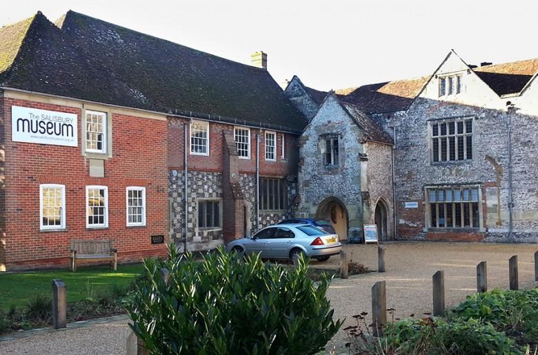 Old British building