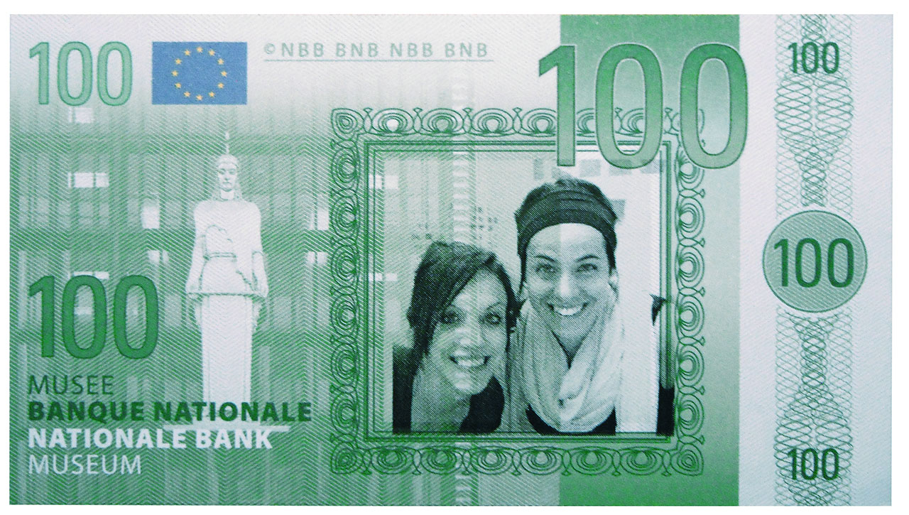 Fake bank note