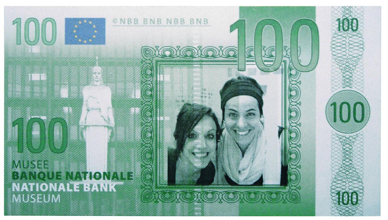 Fake bank note