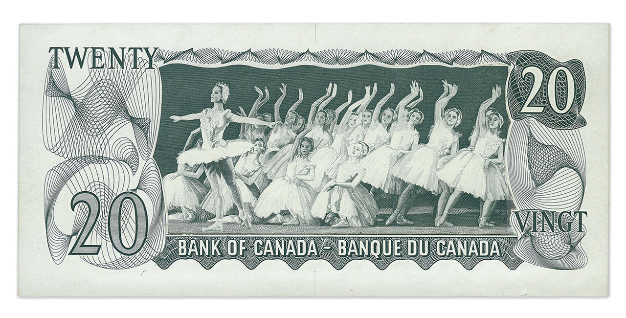 Engraving of ballet dancers