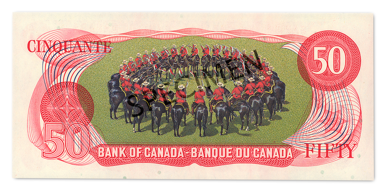 $50 bill back with RCMP