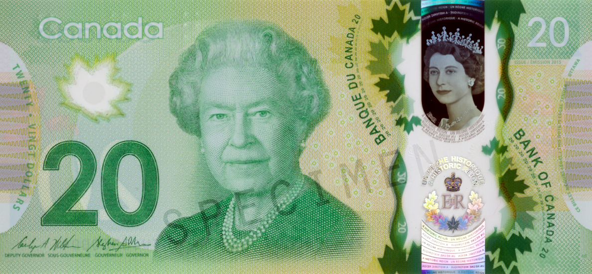 The 2015 Commemorative 20 Bank Note Revealed Bank Of Canada Museum