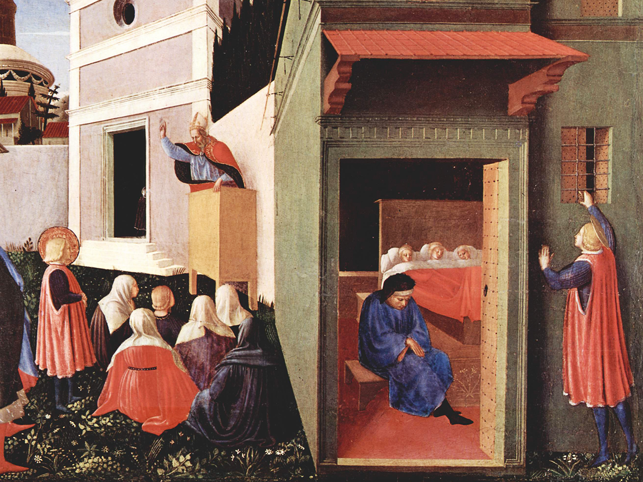 1437 painting by Fra Angelico