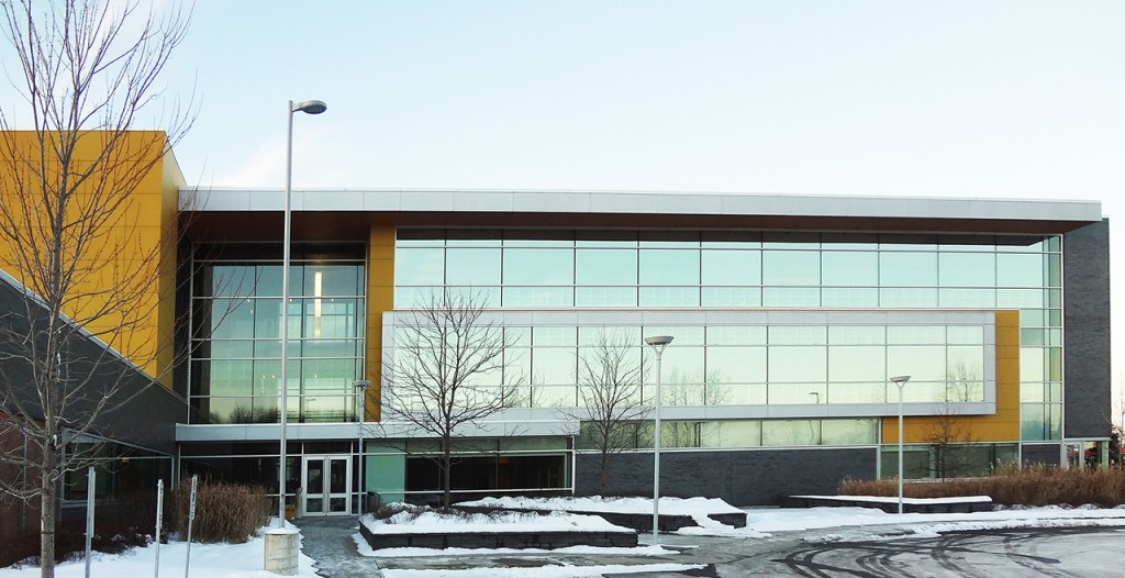James Bartleman Archives and Library Materials Centre building in Ottawa