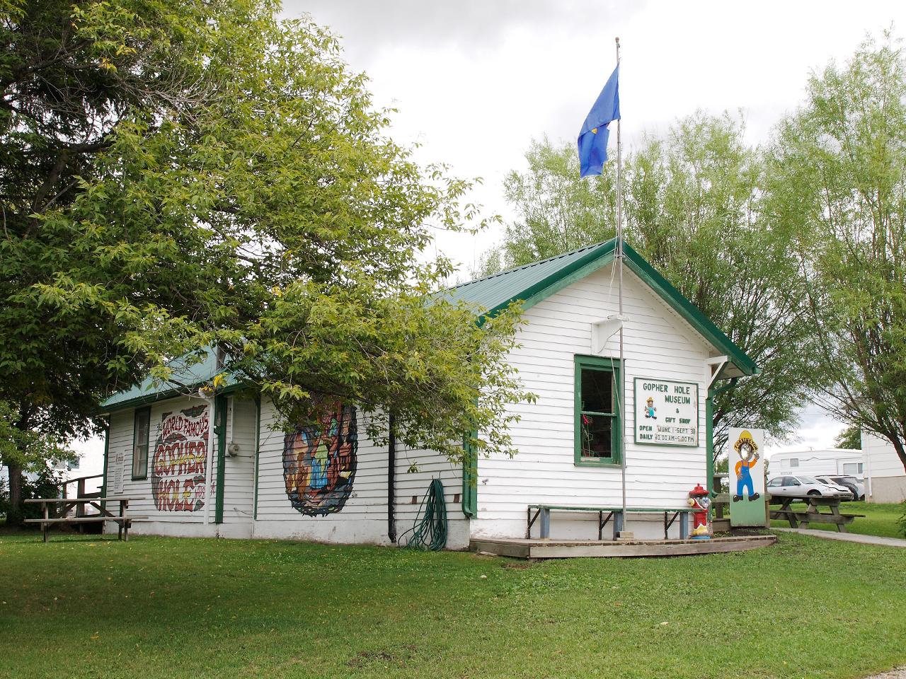 Gopher Hole Museum building exterior