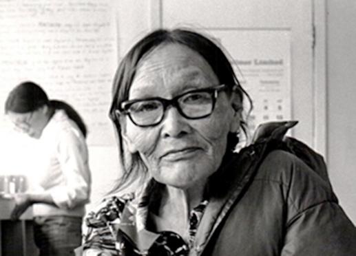 portrait of a woman in art studio