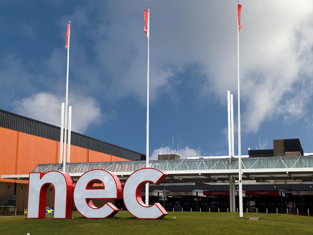 an exhibition centre