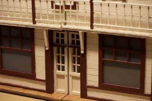 model of log building