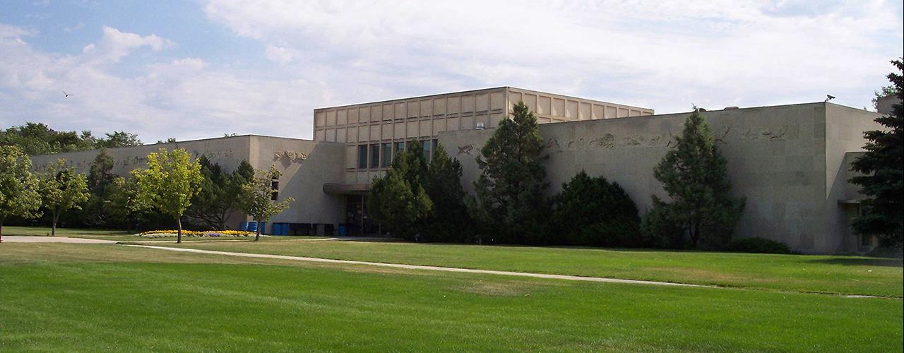 exterior of the Royal Saskatchewan Museum