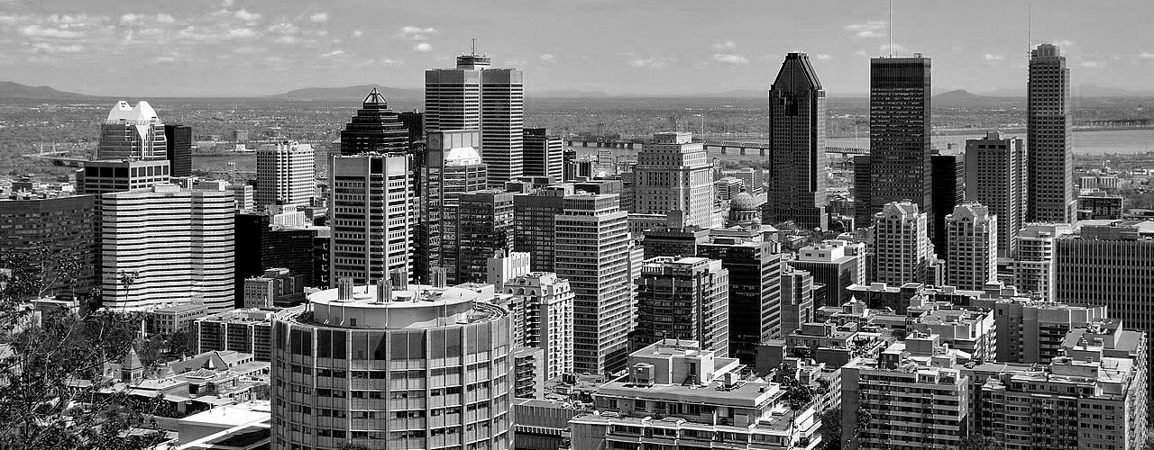 Montréal city skyline