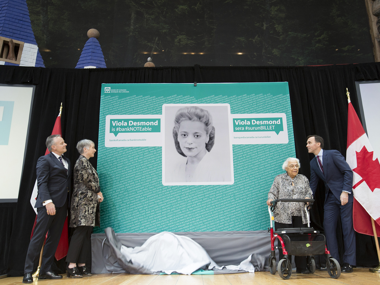 picture of Viola Desmond is revealed