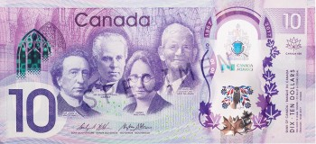 modern commemorative $10 bill