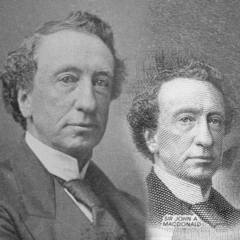 historic image of John A. Macdonald