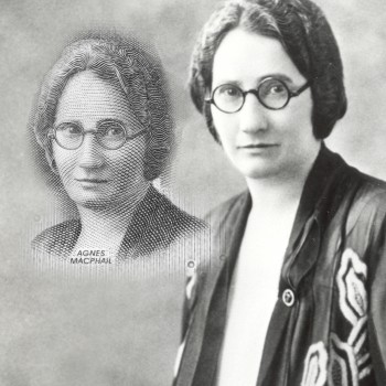 historic photo of Agnes Macphail