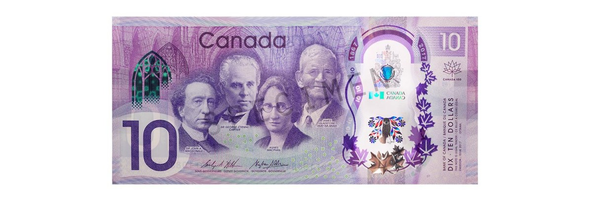 New Canadian $10 Bill