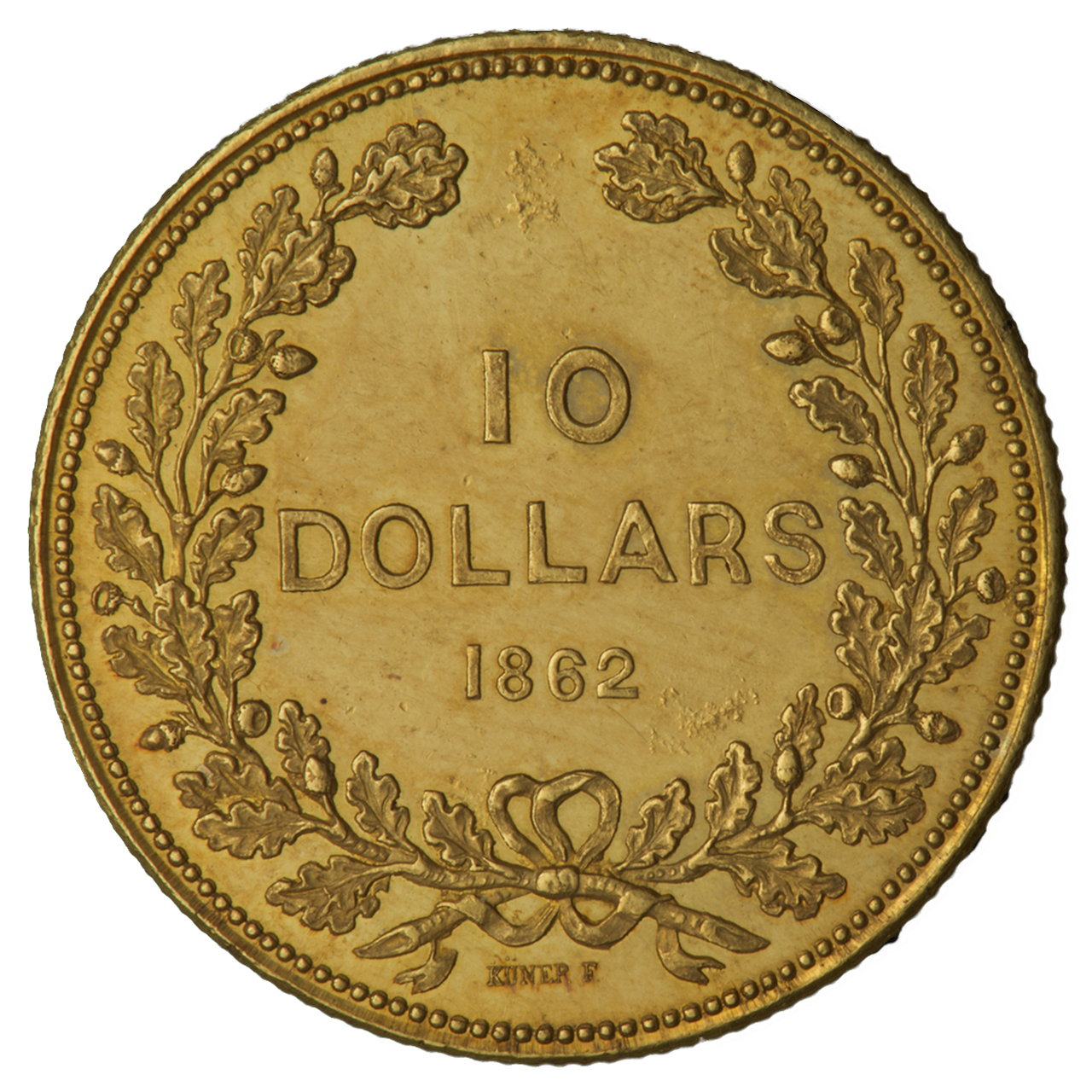 BC gold $10 coin