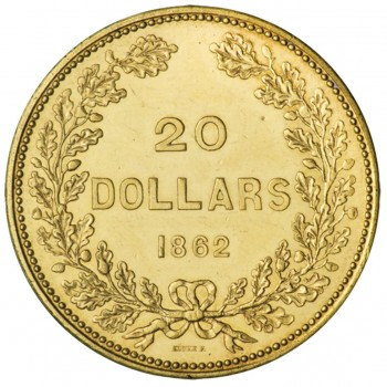 BC gold $20 coin