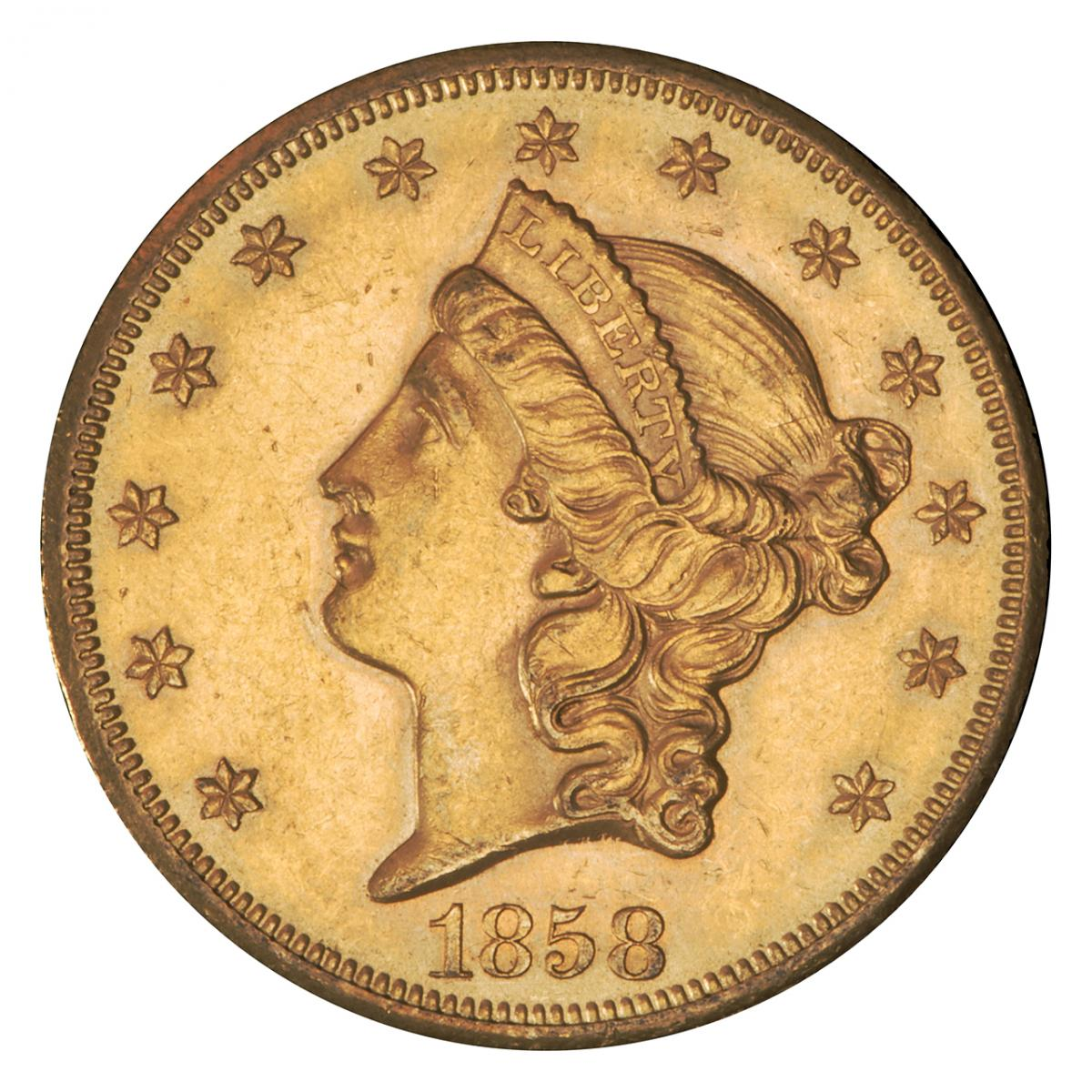 US gold $20 coin
