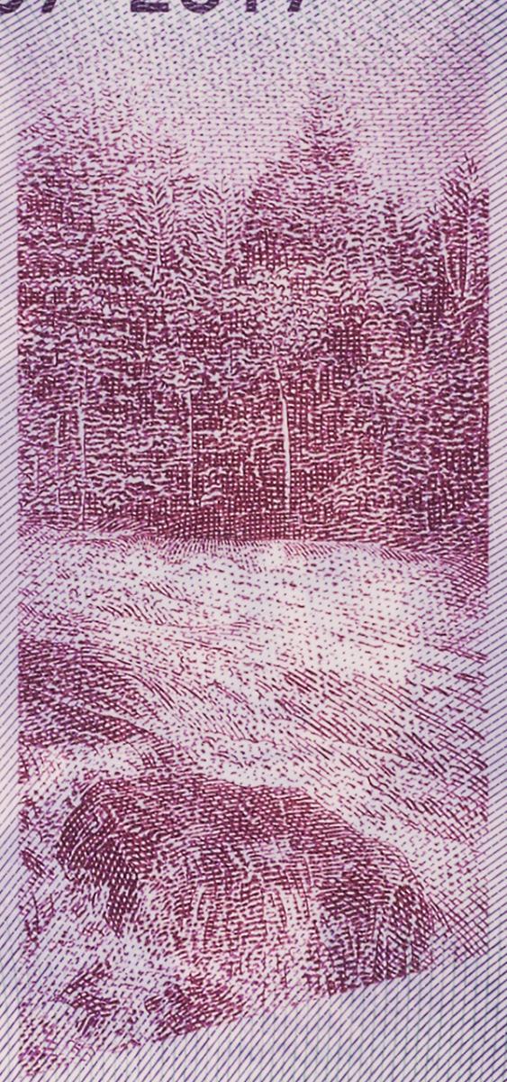 bank note image: river