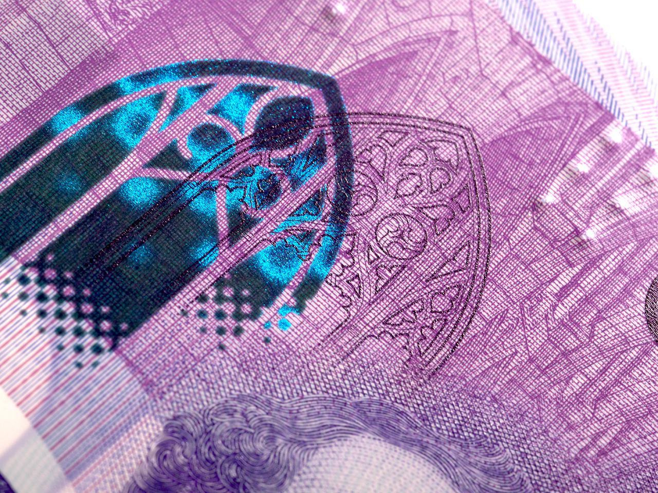 bank note image: gothic window