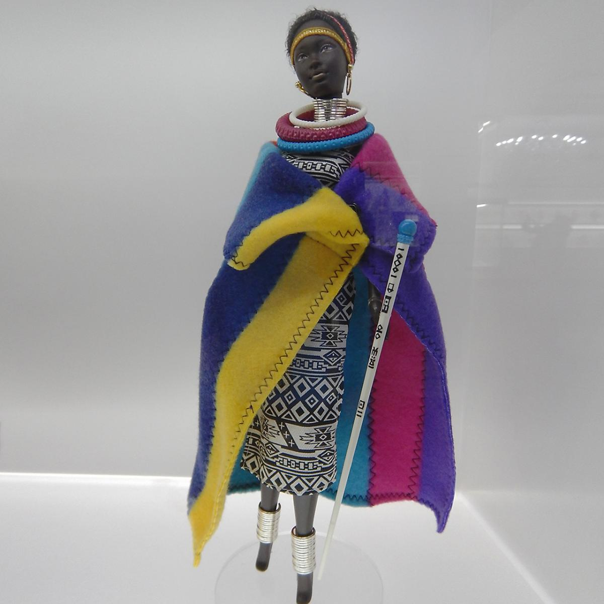 doll in Ndebele African costume