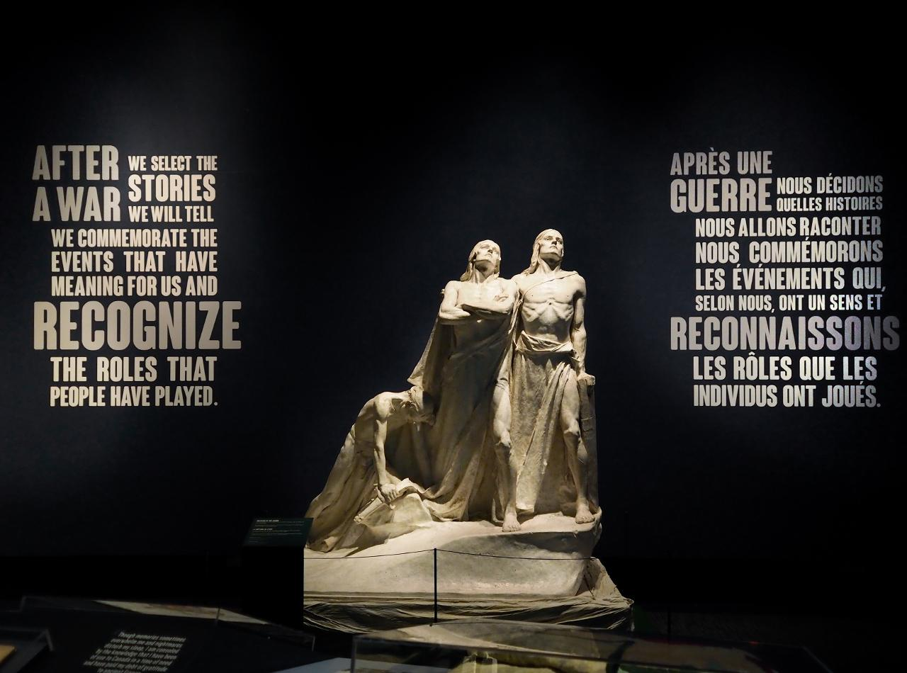 statues and statements about commemoration