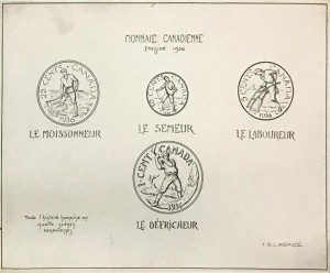drawings of coins
