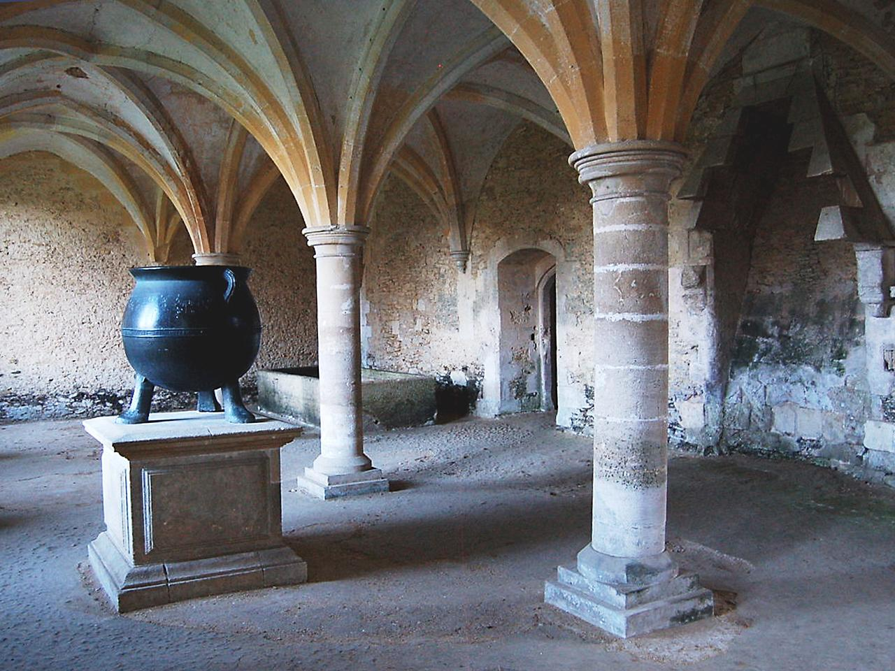 medieval vaulted chamber