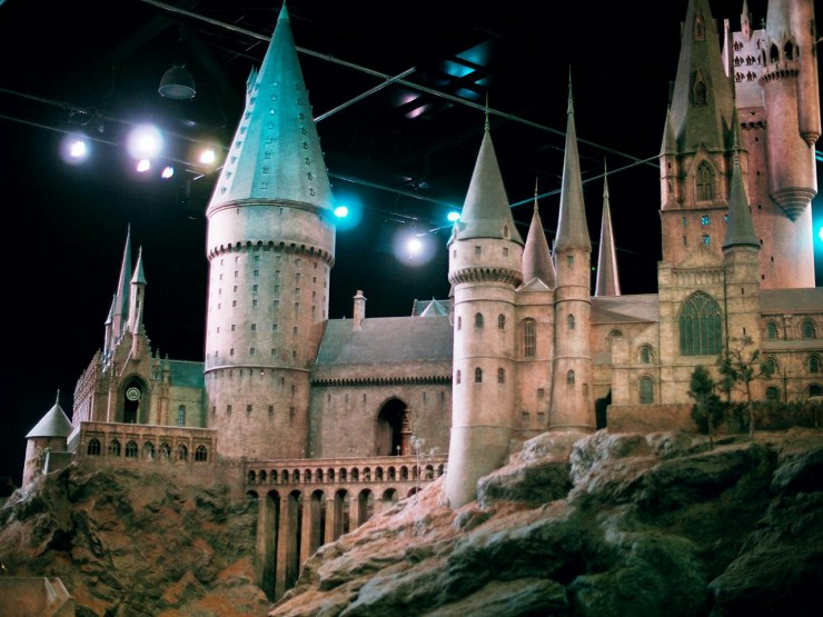 a model of a castle