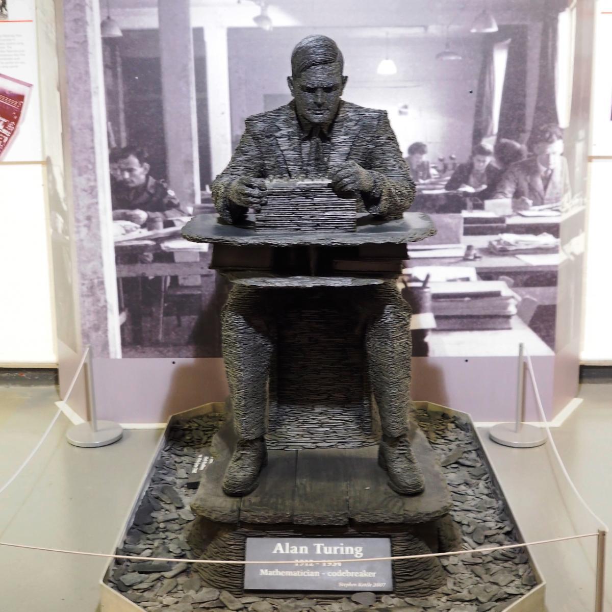 statue of sitting man