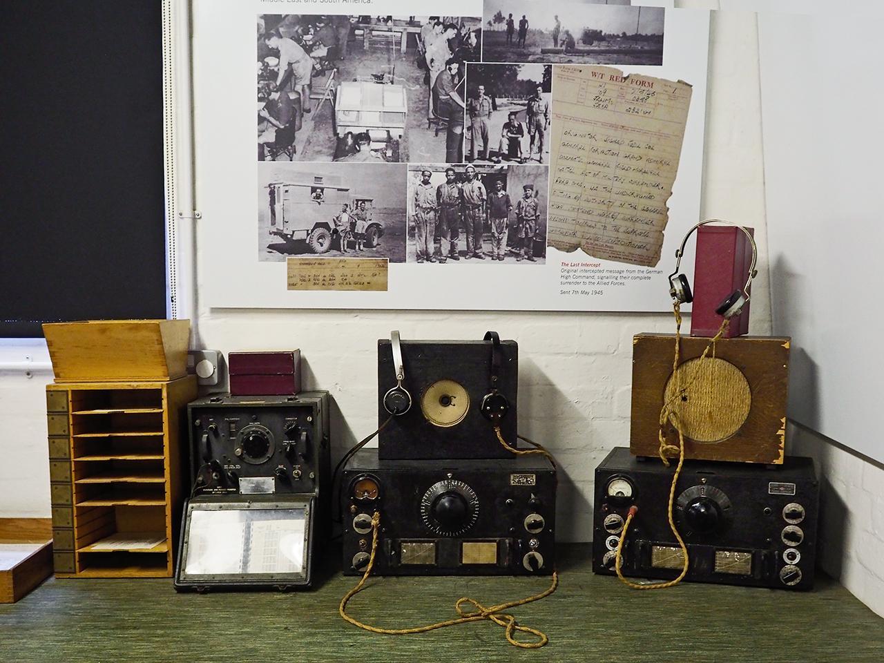 old radio sets