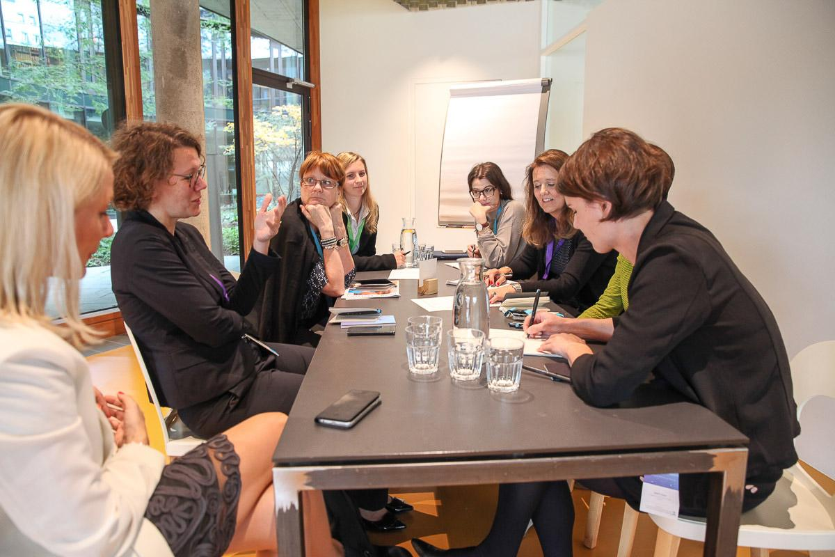 IFFM workshop on economic literacy and gender issues.