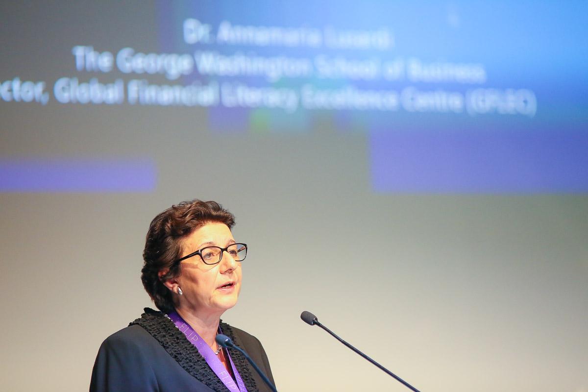 IAnnamaria Lusardi, Academic Director of Global Financial Literacy Centre, Washington DC.