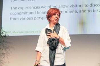 Silvia Singer, CEO of the Museo Interactivo de Economía (MIDE) in Mexico City