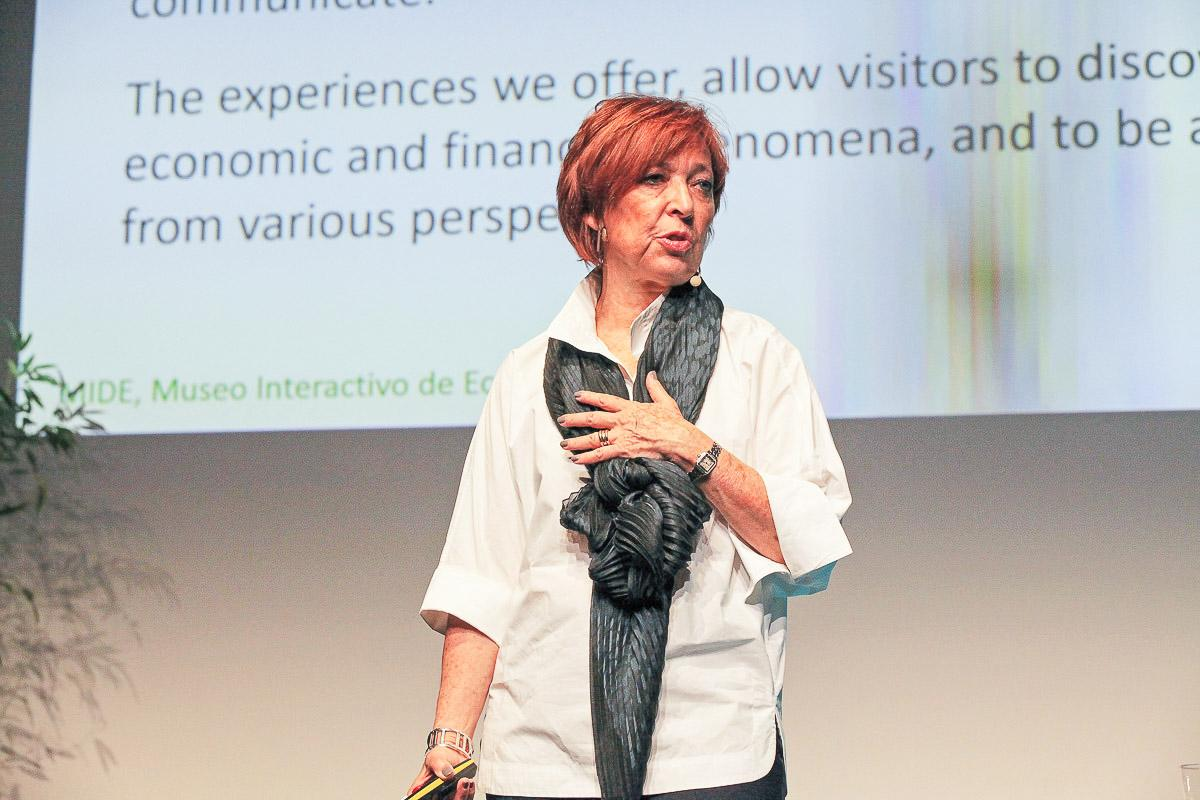 Silvia Singer, CEO of the Museo Interactivo de Economía (MIDE) in Mexico City