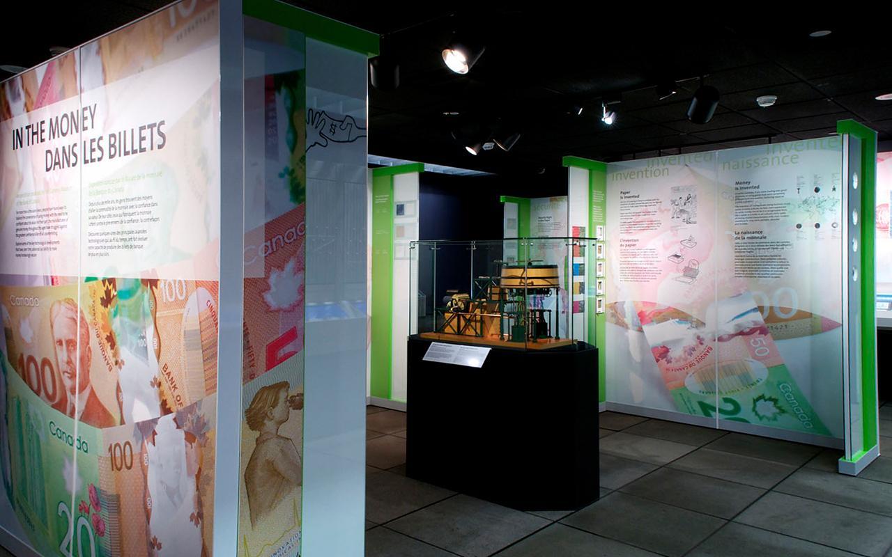 In the Money exhibition