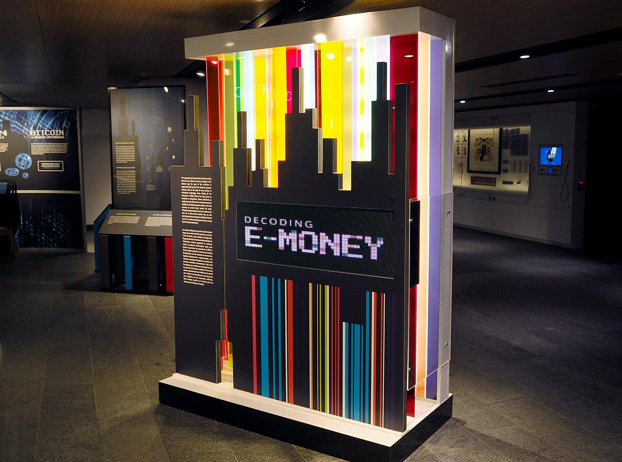 Decoding E-Money electric sign