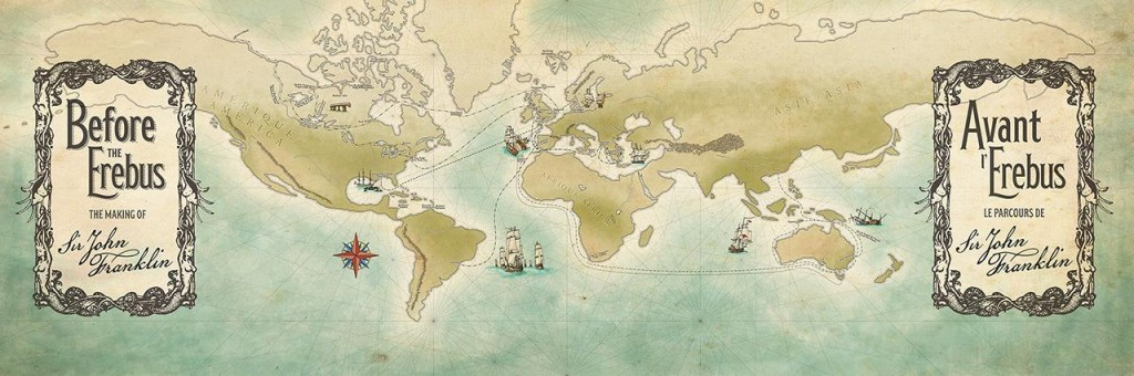 hand illustrated map