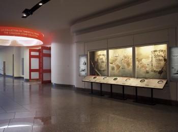an exhibition window