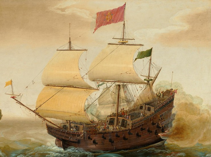 17th century ship